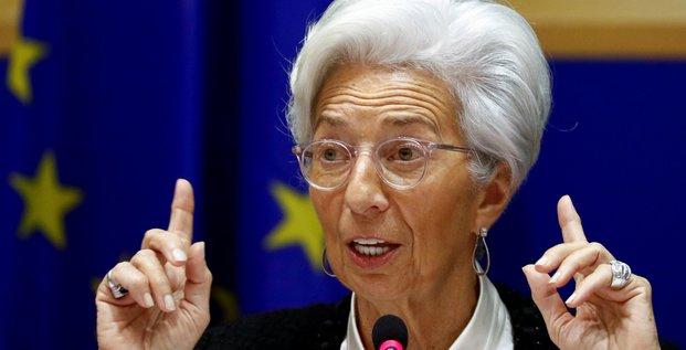 Lagarde (bce) appelle l'ue a debloquer son plan de relance