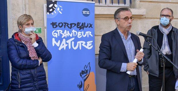 Pierre Hurmic lancement Bordeaux grandeur nature
