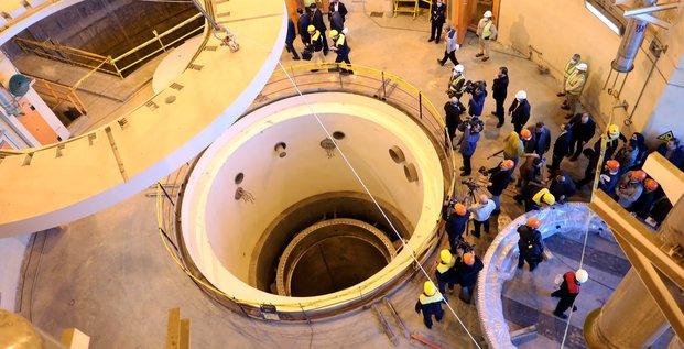 Réacteur nucléaire d'Arak en Iran