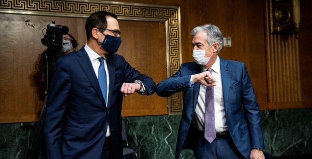 Usa: les petites entreprises en danger face a la pandemie, disent mnuchin et powell