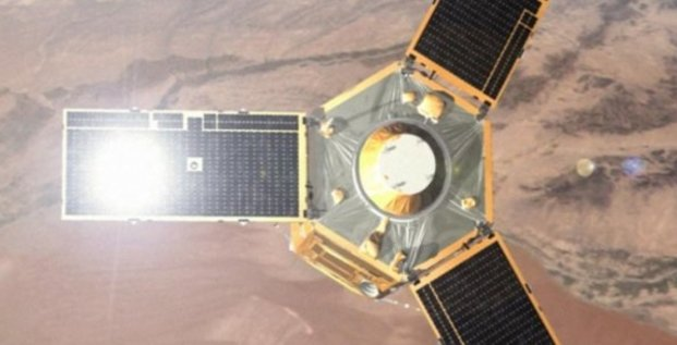 satellite observation Egypte Airbus
