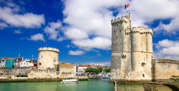 La Rochelle : deux navettes électro-solaires dans le Vieux-Port