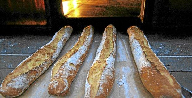 Une baguette de pain