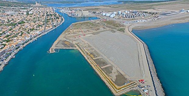 Le port de commerce de Port-la-Nouvelle