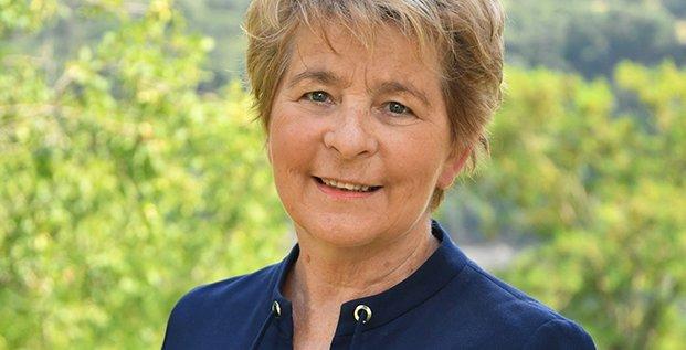 Marie-Guite Dufay, la présidente de la région BFC