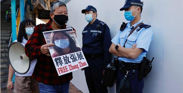 Prison, Chine, Zhang Zhan, Wuhan, épidémie, lanceuse d'alerte
