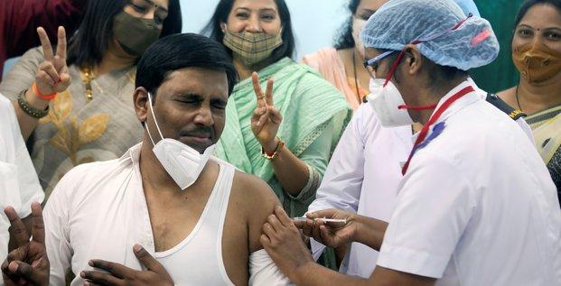Coronavirus: l'inde s'apprete a debuter sa campagne de vaccination