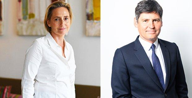 Béatrice Mortier et Emmanuel Desmaizières (ICADE)