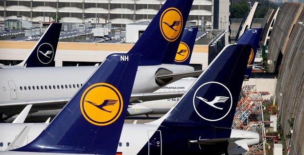 Lufthansa ne perd plus que 1 million d'euros toutes les deux heures