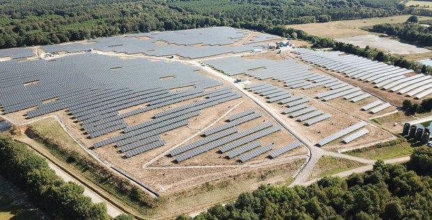 Centrale solaire hybride Senillé-Saint-Sauveur
