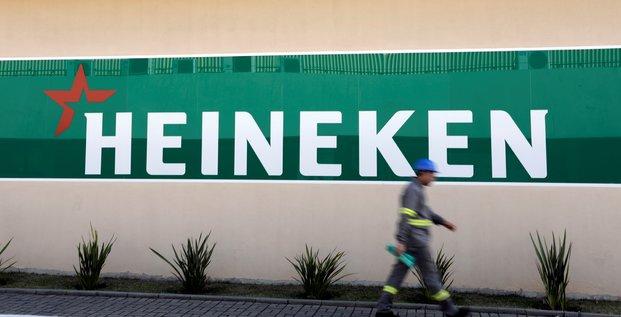 Heineken voit son benefice 2019 croitre au meme rythme qu'en 2018