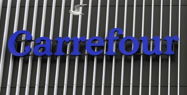 Carrefour: nouveaux objectifs financiers apres une croissance soutenue en 2020