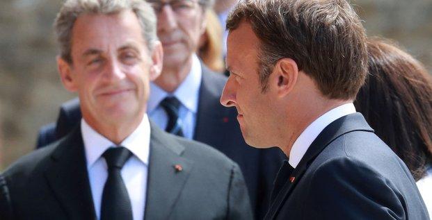 Macron Sarko