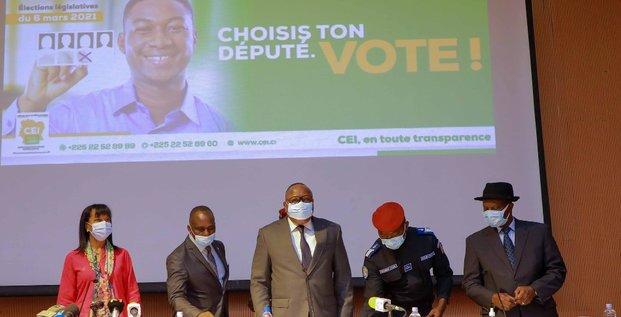 législatives cote d'ivoire CEI2021