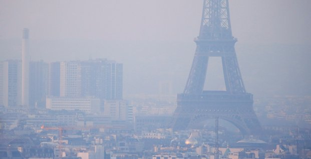 Ile-de-france-la baisse de la pollution de l'air moins importante que lors du premier confinement
