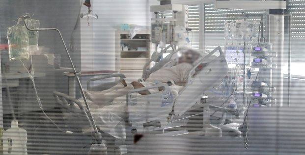 Patient covid-19 CHU Bordeaux