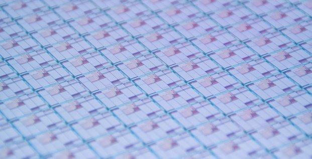 Wafer silicium quantique