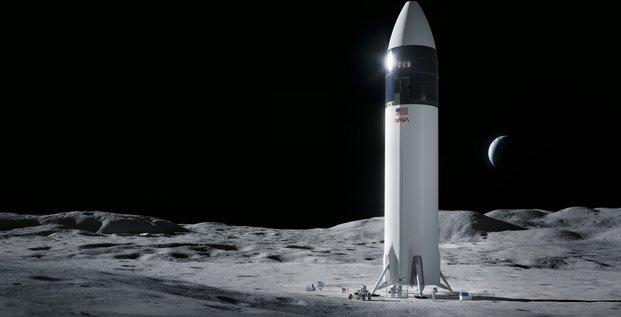 NASA SpaceX Starship