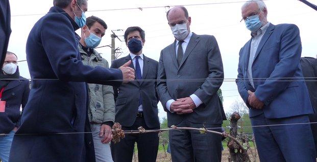 Gel sur les vignobles : Castex et Denormandie en visite dans l'Hérault le 17 avril 2021