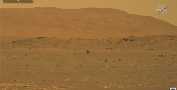 Nasa, Ingenuity, first flight on, Mars, Perseverance