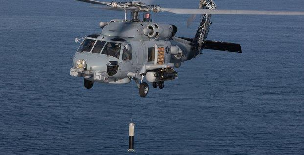 Thales Lockheed Martin sonar Us Navy