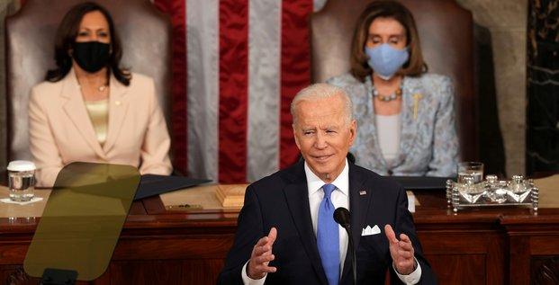 La chine se rapproche, avertit biden dans son premier discours au congres