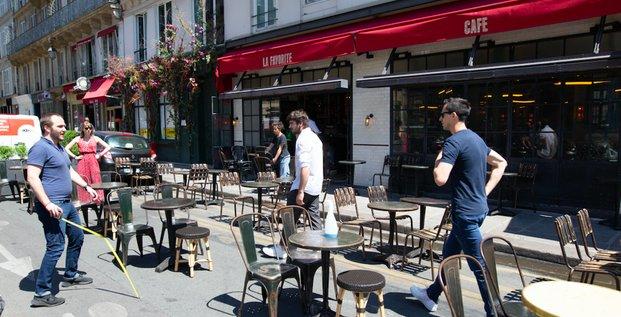 Terrasse épéhmère Paris