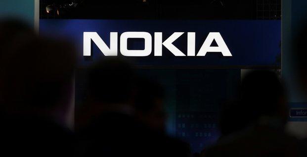 Nokia depasse les attentes au t1 et grimpe en bourse