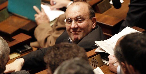 Julien Dray en 2010 à l'Assemblée nationale alors qu'il était encore député