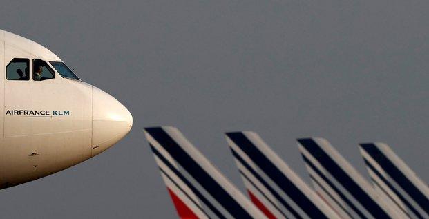 La perte d'exploitation d'air france-klm s'est creusee au premier trimestre