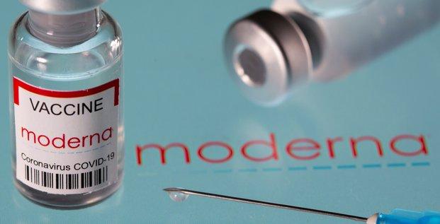 Coronavirus: moderna releve sa prevision annuelle de ventes de son vaccin