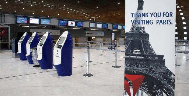 aéroport, Paris, Delta Airlines