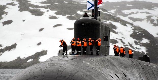 Russie, Arctique, manoeuvres