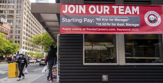embauche, USA, chômage,