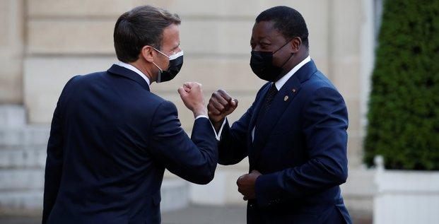Macron accueille un sommet sur la relance de l'economie en afrique