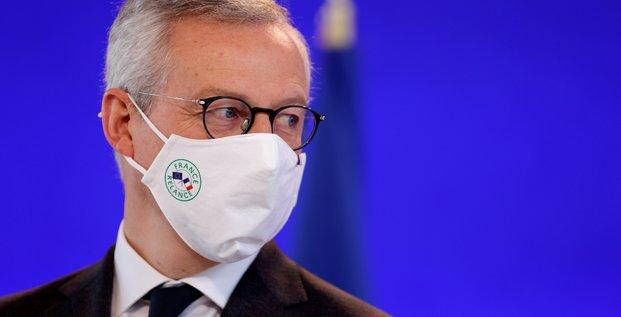 France : le deficit public 2021 depassera -9%, dit bruno le maire
