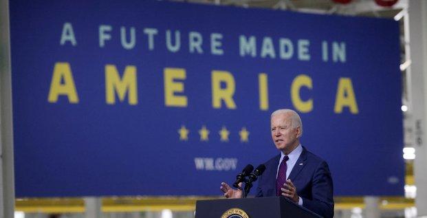 Biden devrait presenter un projet de budget a 6.000 milliards de dollars, rapporte le nyt