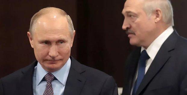 Vladimir Poutine  Alexandre Loukachenko