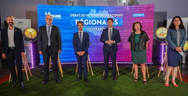 DEBAT Régionales Occitanie  le 1e juin 2021