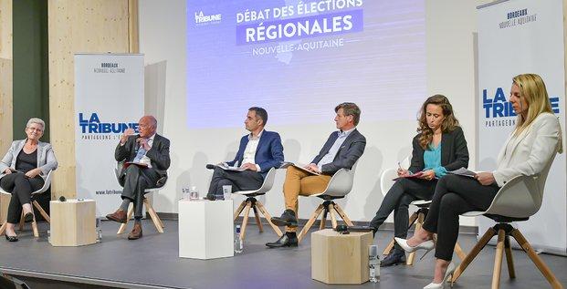 Débat Régionales Nouvelle-Aquitiane 2021