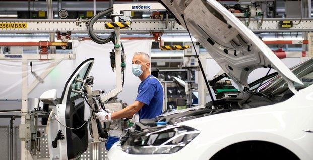 Allemagne: la production industrielle baisse en avril avec les goulots d'etranglement