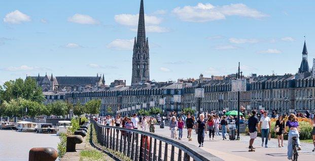 Centre-ville de Bordeaux quais