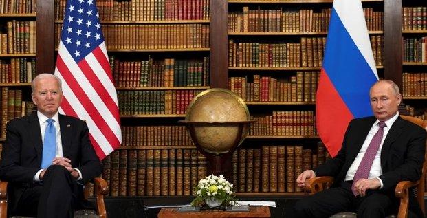 Poutine constate beaucoup de problemes lors de son sommet avec biden