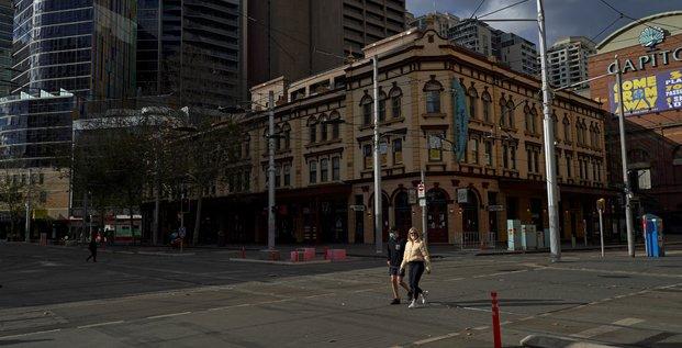 Sydney, la plus grande ville d'australie, confinee pendant 15 jours