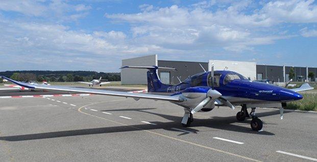 L'avion Diamond Aircraft d'Instant'Air