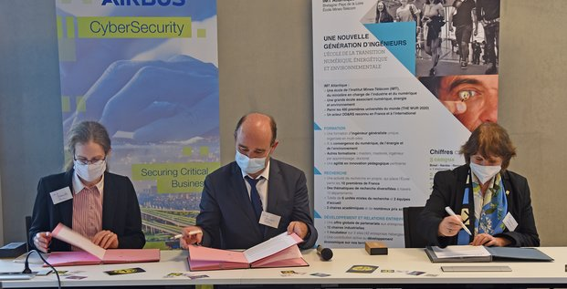 convention Airbus CyberSecurity/IMT Atlantique