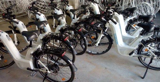 Brides les bains vélo hydrogène