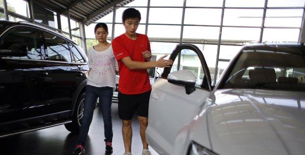 La chine en pointe dans le redressement de l'industrie automobile