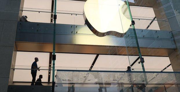Apple depasse les attentes de wall street avec ses iphones