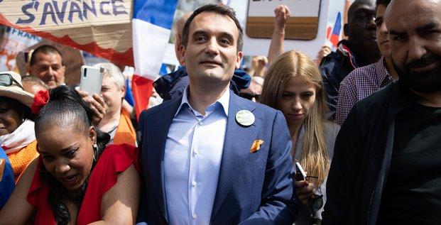 Florian Philippot, Les Patriotes, pass sanitaire, manifestation, antivax